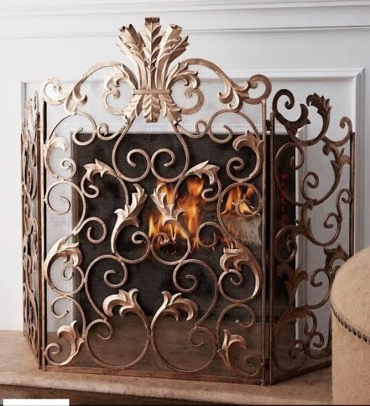 Decorative Fire Screen
