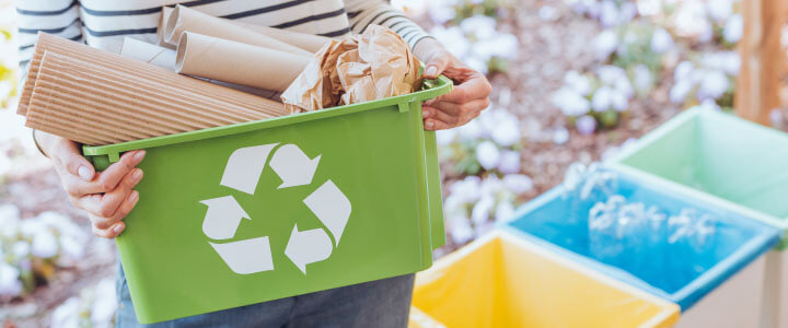 Help the Environment and Yourself, Recycle Your Waste